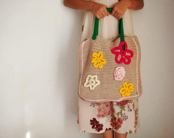 Large Crochet Bag Pattern, Tote Bag Crochet Pattern, Market Bag Pattern, 221