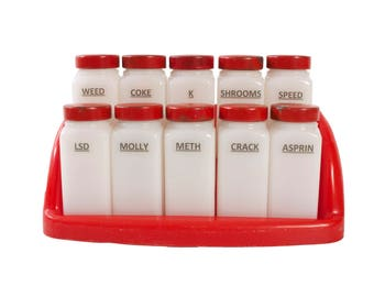 Recreational Drug Altered Spice Rack - Humorous - Stash Box  sc 1 st  Etsy & Drug stash box   Etsy Aboutintivar.Com