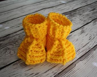 Chicken Baby Booties - Chicken Feet Booties - Chicken Duck Costume Photo Prop - Halloween Chicken Costume Feet - by JoJo'sBootique