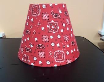 Paisley lamp shades etsy handkerchief style lamp shade bandana paisley design aloadofball Choice Image