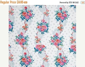 SALE 10% Off - Krysta in White - HOTEL FREDERIKSTED - Jennifer Paganelli - Free Spirit Fabric - By the Yard