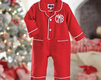 Baby boy pajamas | Etsy