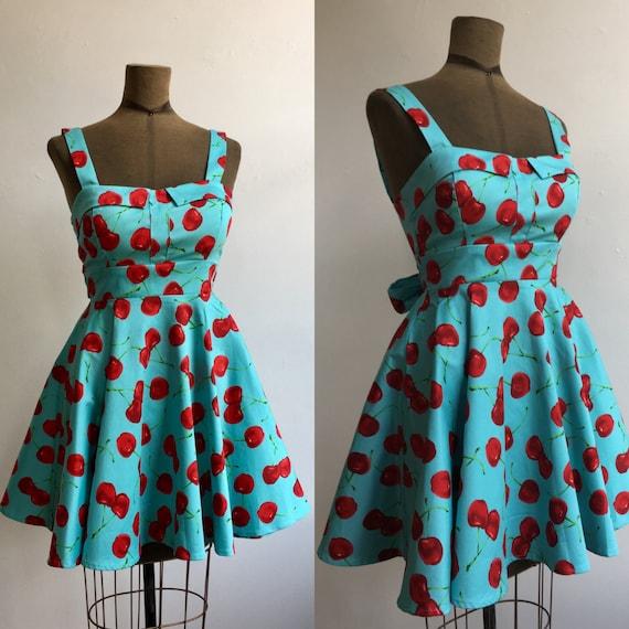 Cherry Sun Dress
