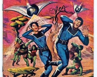 Space Family Robinson LOST IN SPACE, Gold Key Comic Book, Issue #39, April 1974