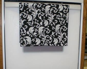FOR BARBARA ONLY - 3 Decorative Towels - Black and White Scrolls