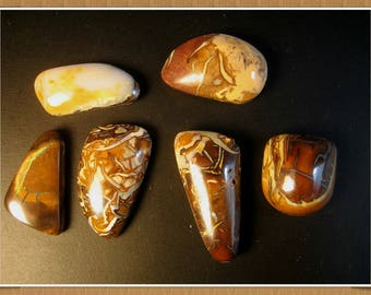 Set of six  Koroit Boulder Opals, 134.90 cts