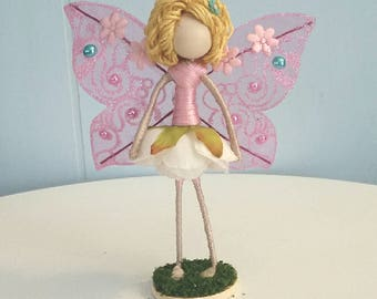 Light Pink Fairy with Pink Wings