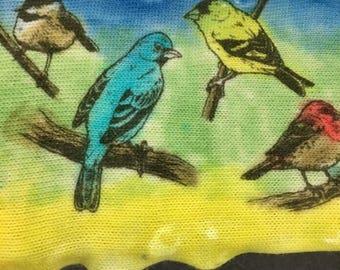 Birds of a Feather Sock Blank