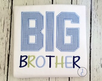 Big Brother Shirt - Big Brother Gift, Big Brother Announcement Shirt, Sibling Outfits, Big Brother Little, Big Brother Outfit, Pregnancy