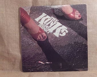 The KINKS - Low Budget - 1979 Vintage Vinyl Record Album
