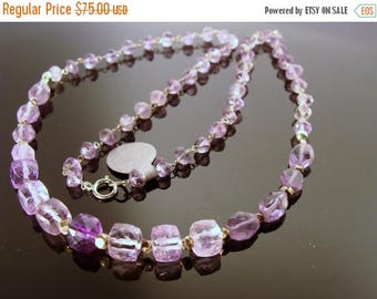 Amethyst 925 Sterling Silver Necklace