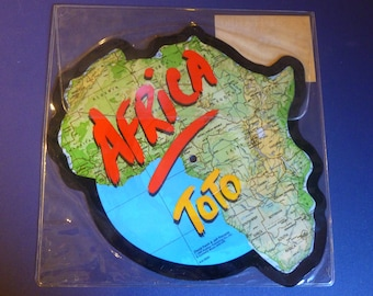 Toto Africa/ Rosanna Double Feature Limited Edition Picture Disc Record 8C8-38685 Sealed and Rare 1982