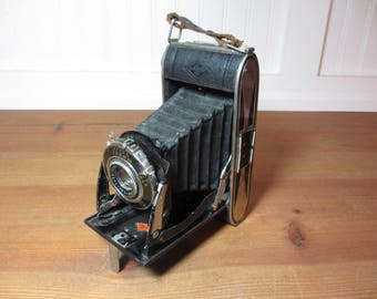 Vintage AGFA Billy Record Folding Bellows Camera, Prop, Photography, Collectible