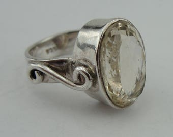 Israel Sterling Silver 925 Women Ring with Stones can be resize (1800