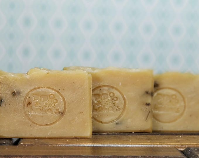 De-Stress your Mess (Chamomile Soap) -- All Natural, Handmade, Barely Scented, Vegan, Tea, Chamomile Soap, Free Shipping