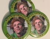 Drop Dead Fred - Rik Mayall Large Button
