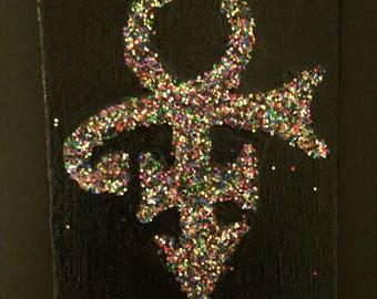 Prince Gender Symbol canvas (4x5)