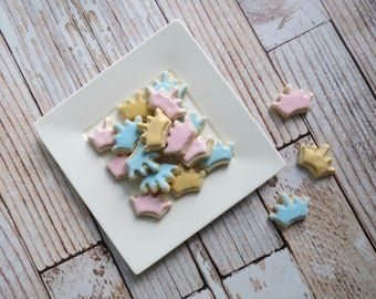 Crown Iced Sugar Cookies - (2 Dozen)