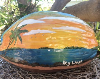 Key West Sunset Coconut