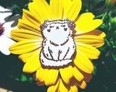 Flower Kitten ~ Purrfect Pin