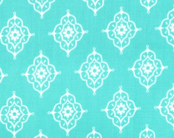 Lily Ashbury Fabric, Trade Winds by Lily Ashbury for Moda Fabrics, 11457-13 South Pacific