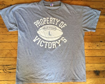 Vintage Property of Victory's t shirt USA large