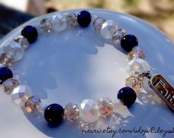 Faith Beaded Bracelet