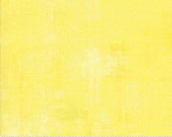 Fabric by the Yard- Grunge Basics-- Lemon Drop -- by Basic Grey for Moda