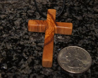 Olive wood cross