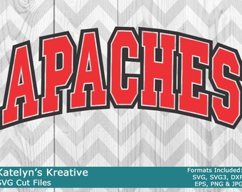 Apaches Arched SVG Files