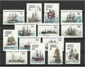 1979 Ships, postage stamps from Australian Antarctic Territory in unused condition