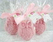 Custom Order for Rachel 35 Owl Soap Favors - Your Color - Shower Favors - Watercolor Tag