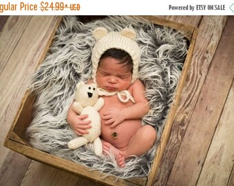 Baby bear newborn set - baby bear hat outfit - newborn bear outfit - newborn photo outfits bear - Baby bear toy  - coming home outfit - hat