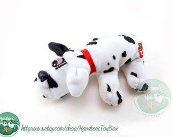 80s Pound Puppy Plush by Tonka: Dalmatian Newborn Size