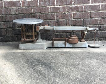 USCE Scale / Weigh / Weight / Old Metal Decor