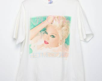 Madonna Shirt Vintage tshirt 1994 Bedtime Stories Album Promo Tee 1990s Louise Ciccone Queen Of Pop Music Breakfast Club Rock 90s
