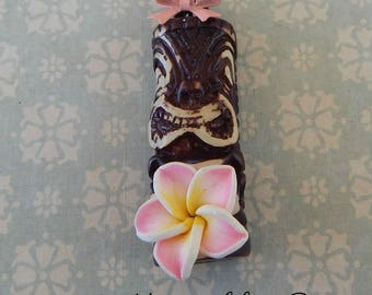 necklace tiki exotic flower