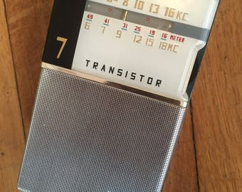Penny's (Toshiba) PENNY'S 7TP-409S Transistor Radio - Japan