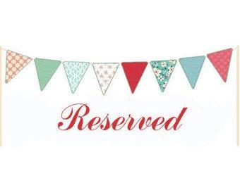 Reserved for Juli