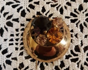 1950's ? Deco inspired Brooch
