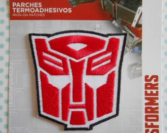 Transformers Iron-on Applique Embroidered Patch