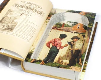 Tom Sawyer - Hollow Book Safe - Book Box by Mark Twain
