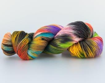 Laine Tricotcolor multicolore teinture, tricot, crochet, fourniture créative, couleurs, handdyedwool ,teinture, tissage, tricotcolor,mérinos