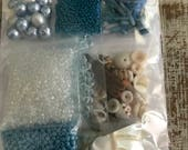 Sea-Scape Raised Texture Bead Embroidery Kit