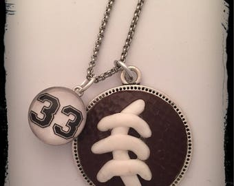Football Mom Necklace, Football Necklace , Football Jewelry