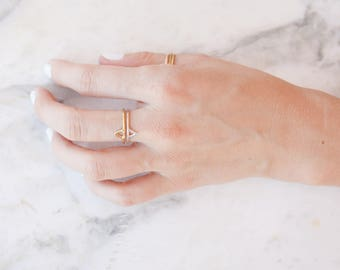 TYCHE triangle ring