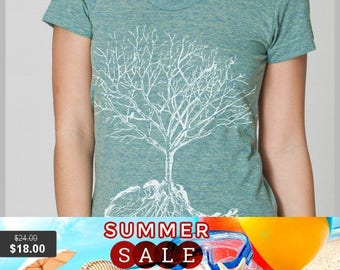 Summer Sale Women's T Shirt  XL - Dust - American Apparel