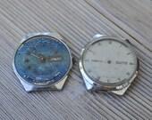 Vintage Soviet wrist watches for parts.Didn't work.