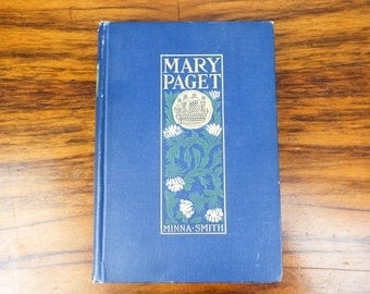 Original First Edition 1900 Mary Paget  A romance of old Bermuda by Minna Caroline Smith Published by The Macmillan Co