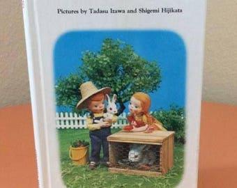 Vintage Preschool Puppet Book - Bunnies - 1974